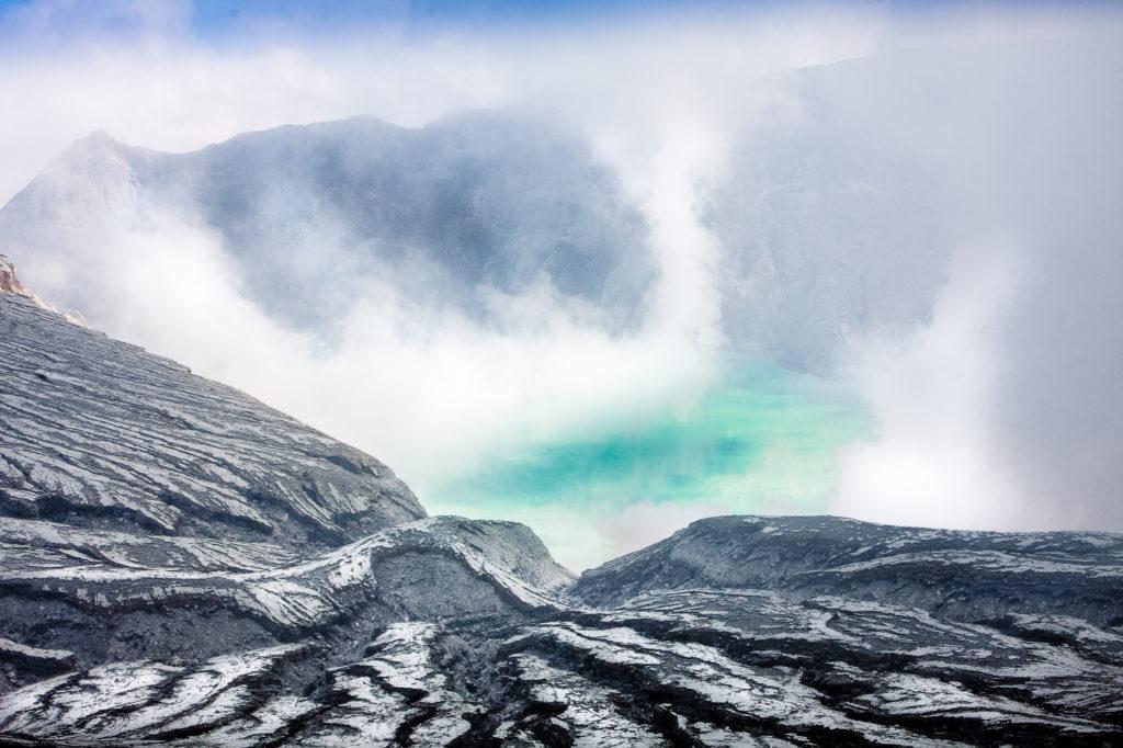 Kawah Ijen volcano in Java